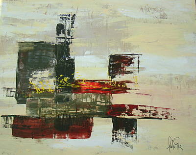 Abstrac Painting - Abstrac  by Lalo Gutierrez