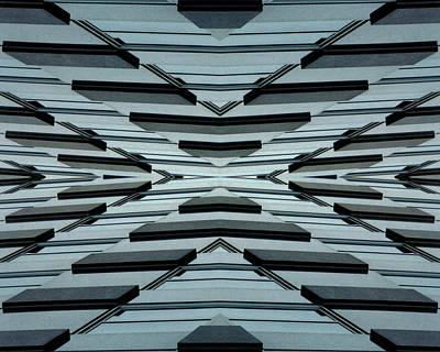 Abstract Buildings 3 Art Print by J D Owen