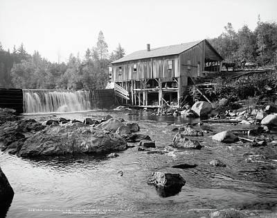 Photograph - Adirondacks, C1903 by Granger