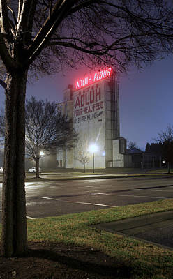 Photograph - Adluh Flour Mill by Joseph C Hinson Photography