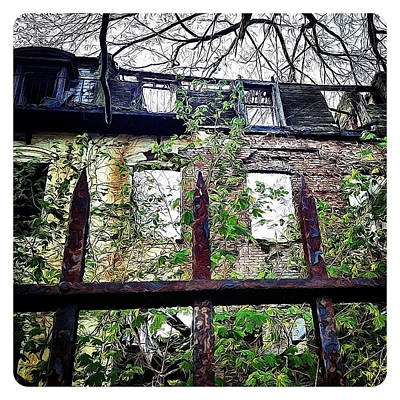 Navema Photograph - Admiral's Row - A Touch Of Grey Gardens by Natasha Marco