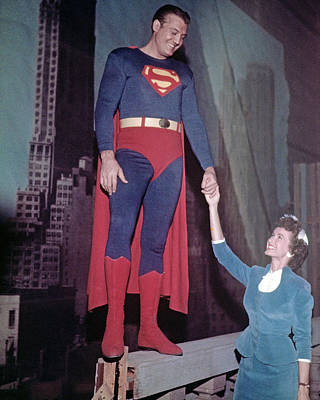 Superman Photograph - Adventures Of Superman  by Silver Screen