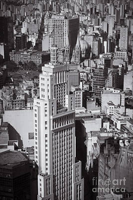 Photograph - Aerial View Of Sao Paulo by Ricardo Lisboa
