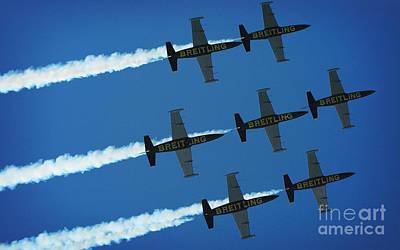 Breitling Photograph - Aerobatics Team by Stefano Senise