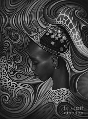 African Spirits II Original by Ricardo Chavez-Mendez