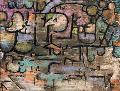 Paul Klee Painting - After The Flood  by Celestial Images
