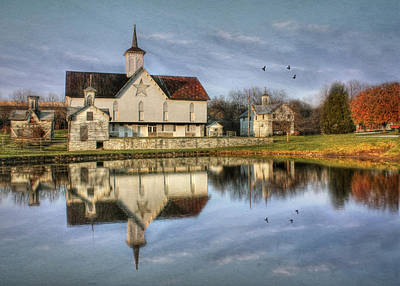 Star Barn Photograph - Afternoon At The Star Barn by Lori Deiter