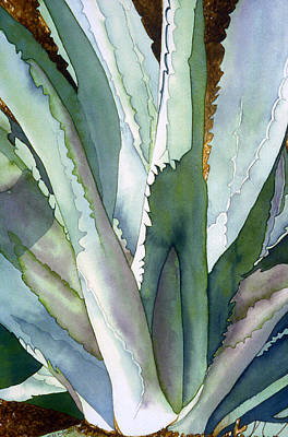 Jagged Painting - Agave 1 by Eunice Olson