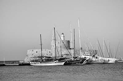 Agios Nikolaos Lighthouse Art Print