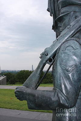 Photograph - Air Force Memorial by Andrew Romer