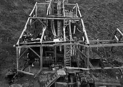 Alaska Gold Mine, 2000 Art Print