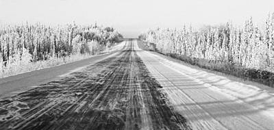 Photograph - Alaska Highway 1 by Juergen Weiss
