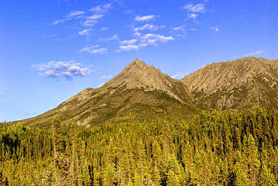 Beautiful Vistas Photograph - Alaska Mountains by Chad Dutson