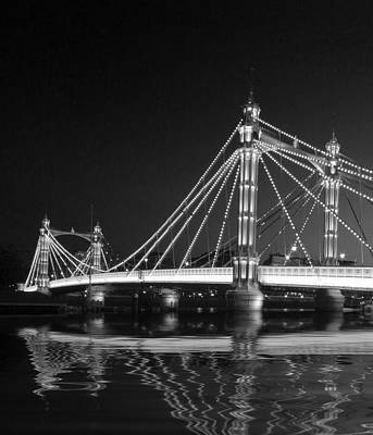 Photograph - Albert Bridge London by David French