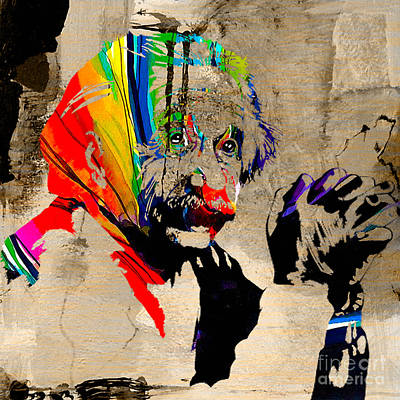 Einstein Mixed Media - Albert Einstein by Marvin Blaine