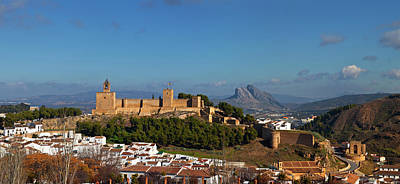 Alcazaba Castle In Antequera, Malaga Print by Panoramic Images