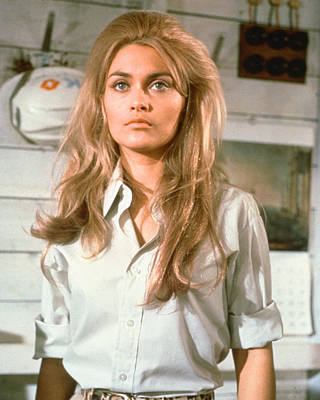 Alexandra Photograph - Alexandra Bastedo In The Champions by Silver Screen