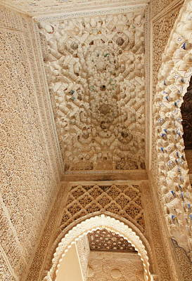 Photograph - Alhambra by Christian Zesewitz