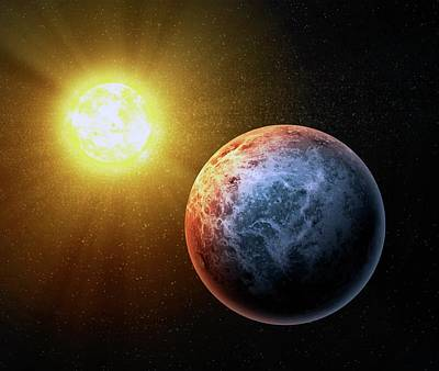 Digital Art - Alien Planet, Artwork by Andrzej Wojcicki