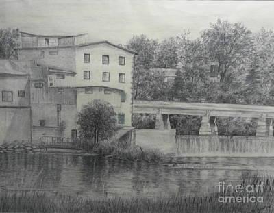 Almonte Heritage Buildings Art Print