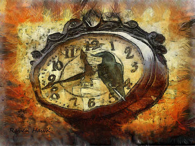 Almost Time Art Print by The Feathered Lady