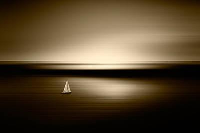 Photograph - Alone by Marek Czaja