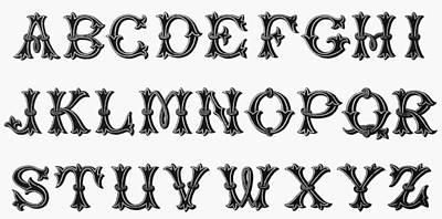 Painting - Alphabet, 16th Century by Granger