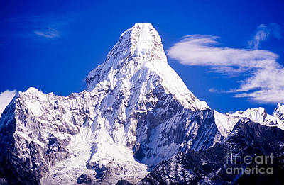 Royalty-Free and Rights-Managed Images - Ama Dablam Nepal Himalaya by Tim Hester