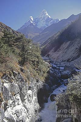 Photograph - Ama Dablam Nepal by Rudi Prott
