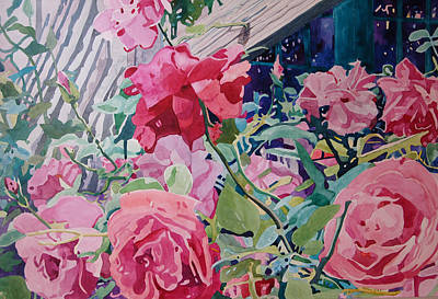 Painting - American Beauty by Terry Holliday