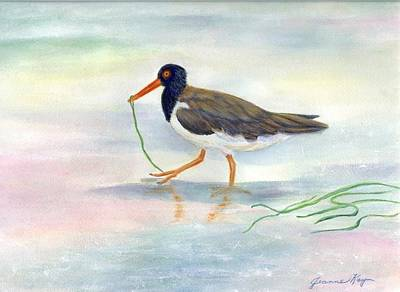 Painting - American Oyster Catcher by Jeanne Kay Juhos