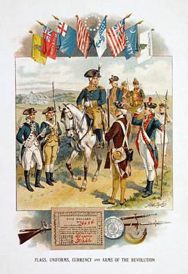 American Revolution Art Print by Granger