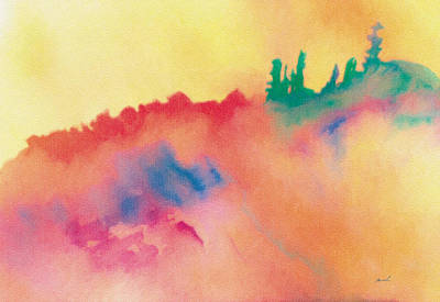 Serene Drawing - Amorphous 3 by The Art of Marsha Charlebois