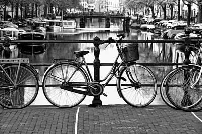 Photograph - Amsterdam Scene by Allen Beatty