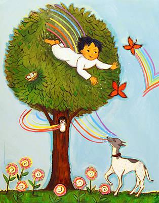 Book Illustrator Photograph - Amy Cordova Artist Reproduction Of Children's Book by Amy Cordova