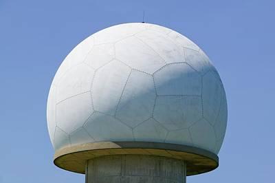 An Early Warning Radar Station Art Print by Ashley Cooper