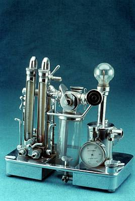 Anaesthetic Apparatus Art Print by Science Photo Library