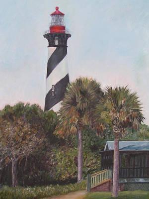 Anastasia Lighthouse Art Print