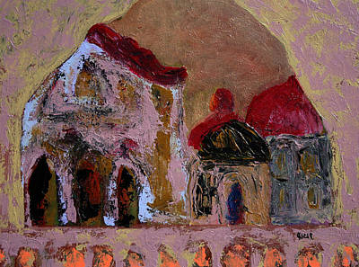 Painting - Ancient  by Oscar Penalber