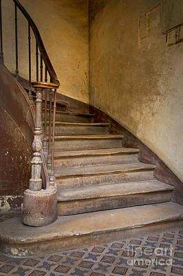 Photograph - Ancient Staircase by Brian Jannsen
