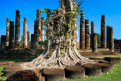 Sukhothai Photograph - Ancient Temple Ruins by Artur Bogacki