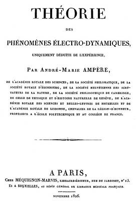 Painting - Andre Marie Ampere (1775-1836) by Granger