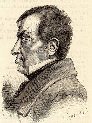 Andre-marie Ampere Print by Universal History Archive/uig