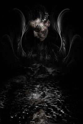 Manipulation Photograph - Andromeda by David Fox