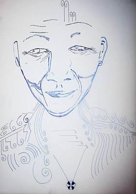Angel Madiba - Nelson Mandela Art Print by Gloria Ssali