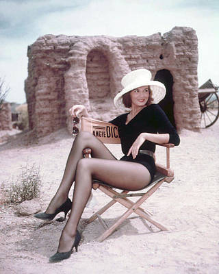 Dickinson Photograph - Angie Dickinson In Rio Bravo  by Silver Screen