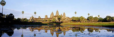 Wat Photograph - Angkor Wat, Cambodia by Panoramic Images