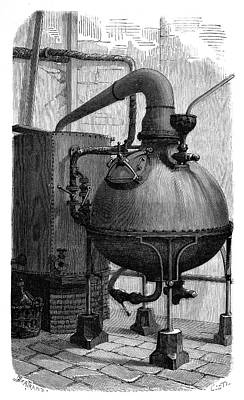 Aniline Dyeing Industry Art Print by Science Photo Library
