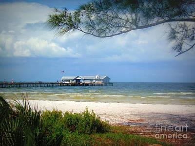 Photograph - Anna Maria Island Pier by Lou Ann Bagnall