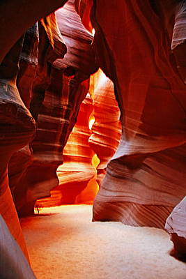 Photograph - Antelope Canyon  by Aidan Moran